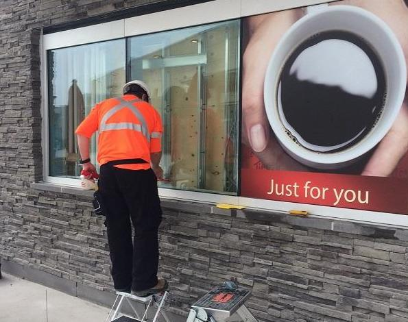 Tim Hortons Window Film Niagara