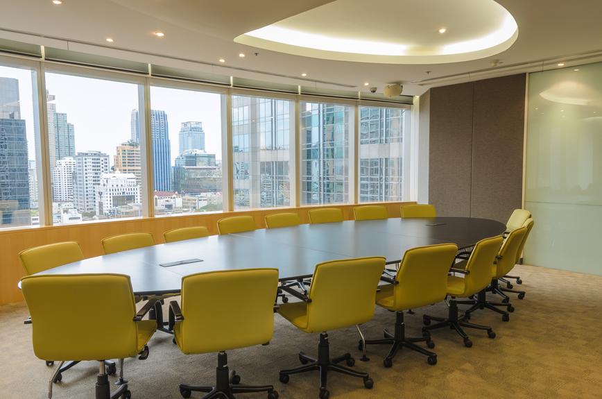 Yellow-Office-Conference-Window_26894609_s