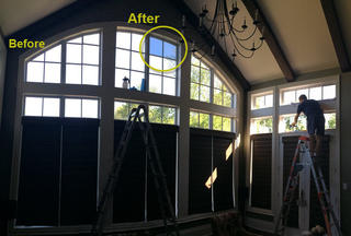 Niagara-on-the-Lake Home – Solar Window Film